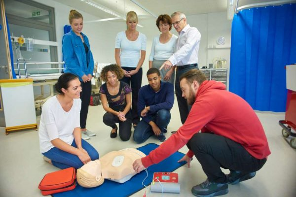 Health Setting CPR plus AED